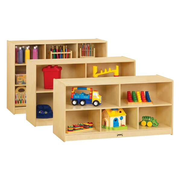 5 Compartment Cubby with Casters by Jonti-Craft