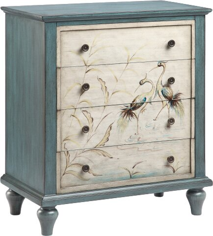 Heron 4 Drawer Chest by Stein World