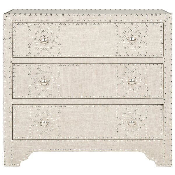 Gordy 3 Drawer Chest by Safavieh
