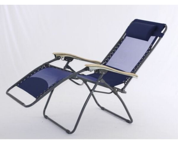 XL Zero Gravity Chaise Lounge with Cool Mesh Technology by Symple Stuff