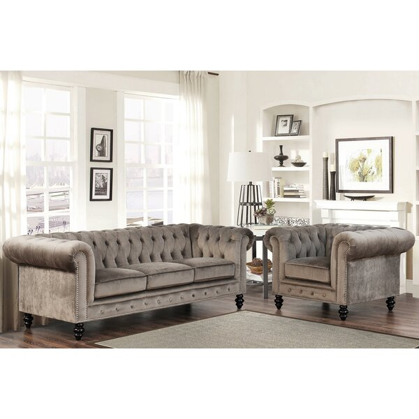 Brooklyn 2 Piece Living Room Set by Mistana