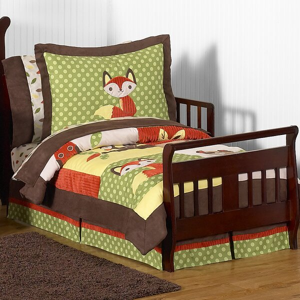 Forest Friends 5 Piece Toddler Bedding Set by Sweet Jojo Designs