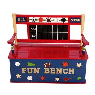 Wildkin Kids All Star Sports Bench Seat with Storage by Wildkin