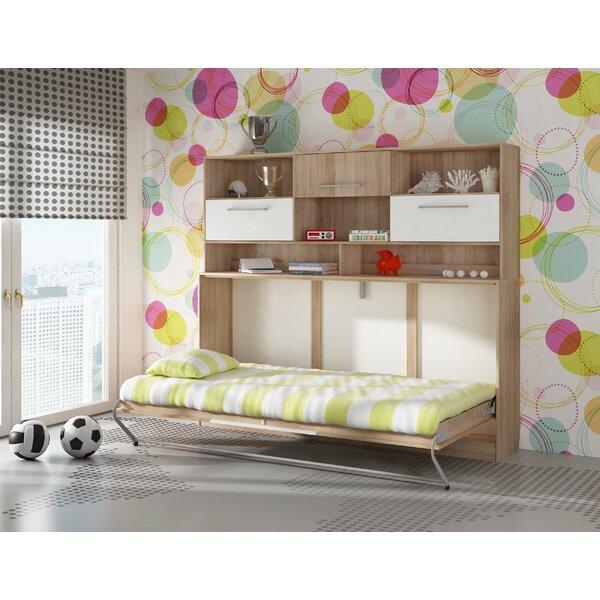 Ciel Storage Murphy Bed with Mattress by Latitude Run Latitude Run