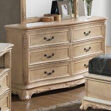 Longstaff 6 Drawer Dresser by Astoria Grand