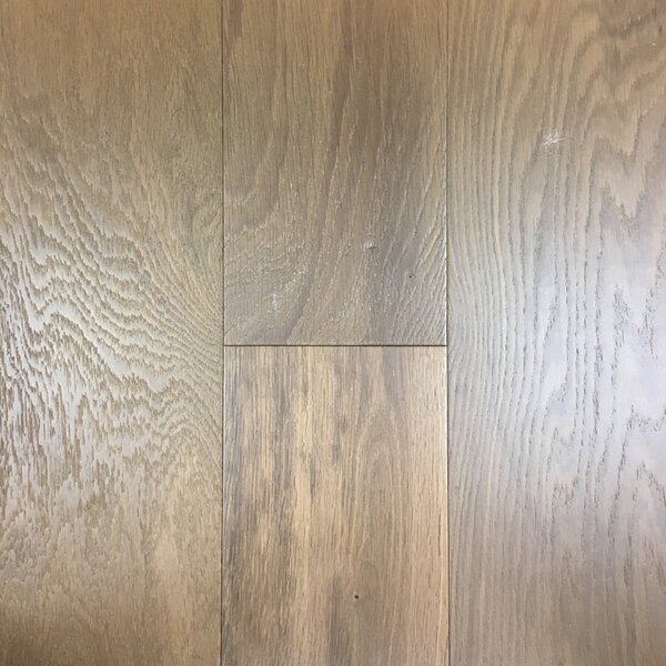 Patriot Plank 7 Engineered White Oak Hardwood Flooring in Cambridge by Meritage Hardwood