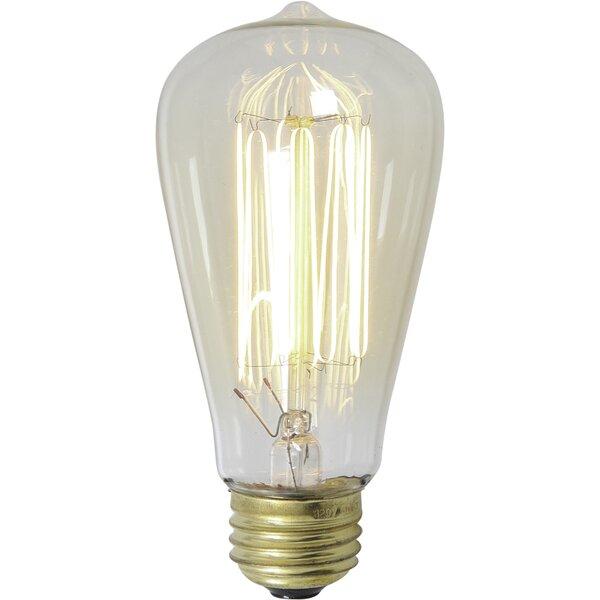 40W Antique Light Bulb by Volume Lighting