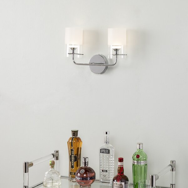 Askerby 2-Light LED Wallchiere by Ebern Designs