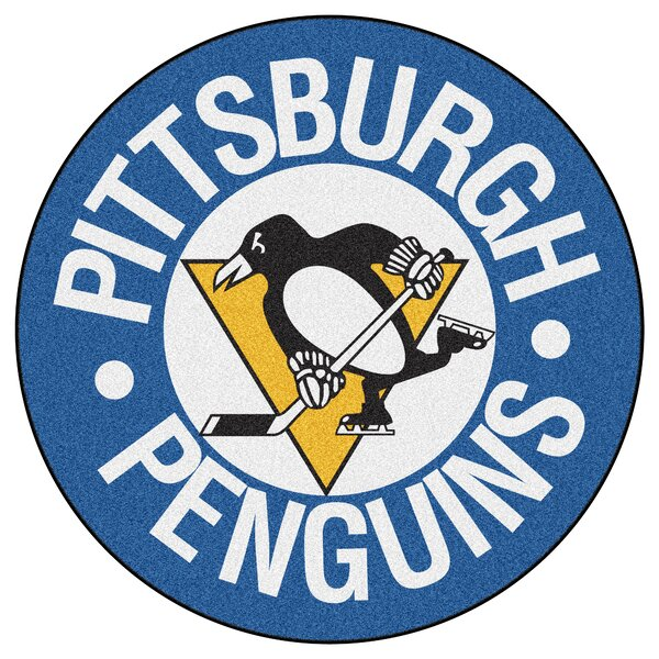 NHL - Pittsburgh Penguins Puck Doormat by FANMATS
