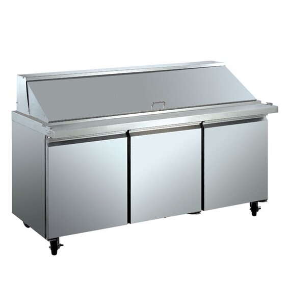 Commercial Food Prepare Table 15.5 cu. ft. Energy Star Counter Depth All-Refrigerator by EQ Kitchen Line