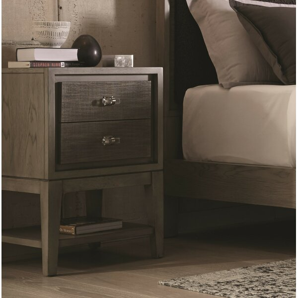 Racette 2 Drawer Nightstand by Union Rustic