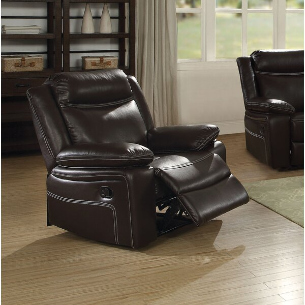 Warkentin Manual Glider Recliner by Winston Porter