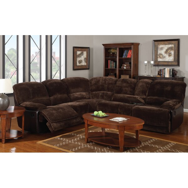 Kroeger 118-inch Symmetrical Reclining Sectional By Red Barrel Studio