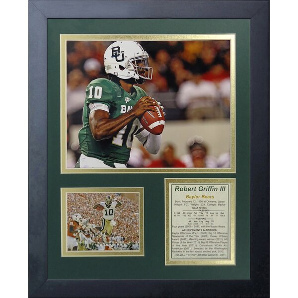 Robert Griffin III - Baylor Framed Memorabilia by Legends Never Die