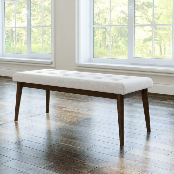 Greenspan Upholstered Bench by George Oliver