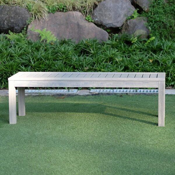 Wirksworth Wooden Picnic Bench by Ebern Designs Ebern Designs