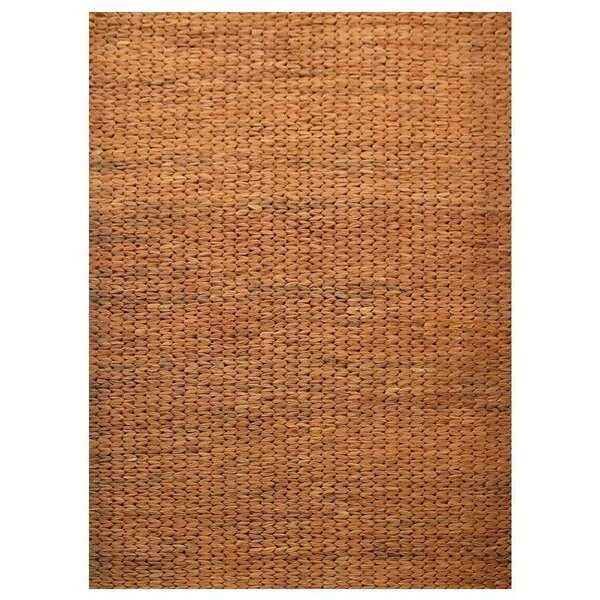 St Catherine Eco-Friendly Hand-Woven Orange Indoor/Outdoor Area Rug by Millwood Pines