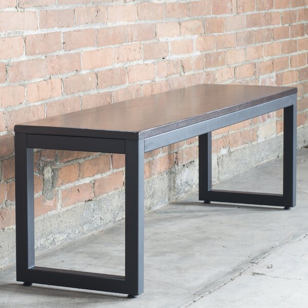 Loft Metal Bench by Elan Furniture