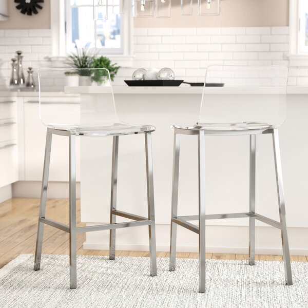 Channing 29 Bar Stool (Set of 2) by Mercury Row