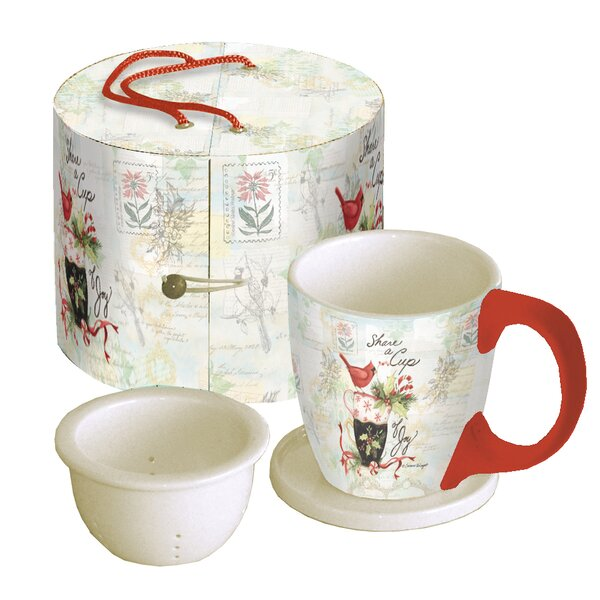 Holiday Tea Cup Set by The Holiday Aisle