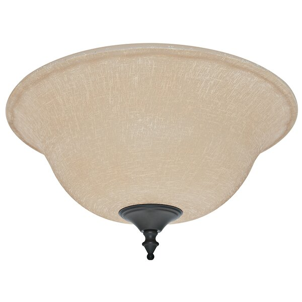 Ceiling Fan Glass Bowl Shade by Hunter Fan