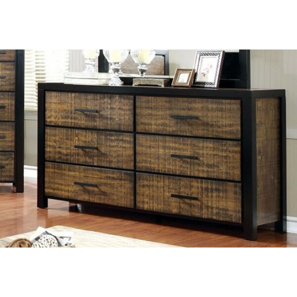 Serita Plushy Bold 6 Drawer Double Dresser by 17 Stories