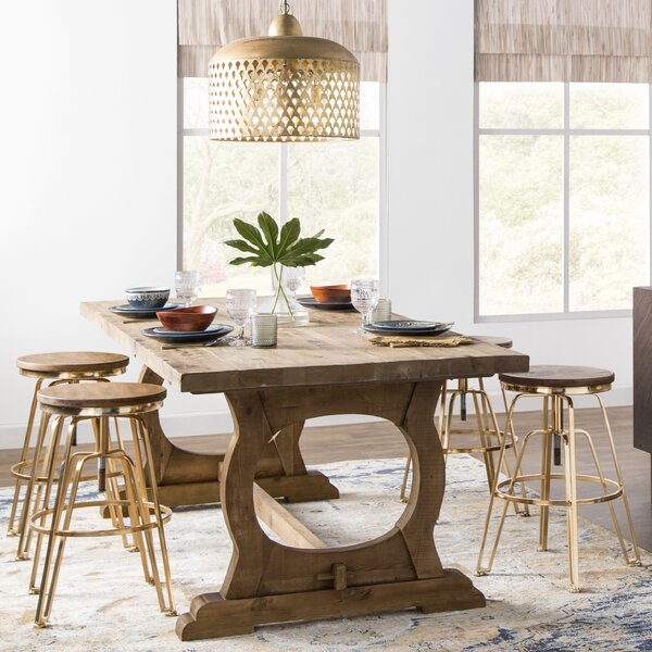 Domenic Mountain Dining Table by Mistana