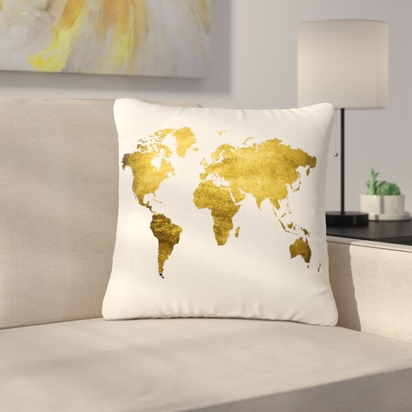 Let Love Light the Way Love Outdoor Throw Pillow by East Urban Home