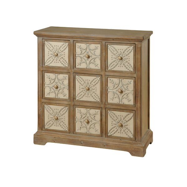 Grenier 9 Drawer Apothecary Chest by One Allium Way
