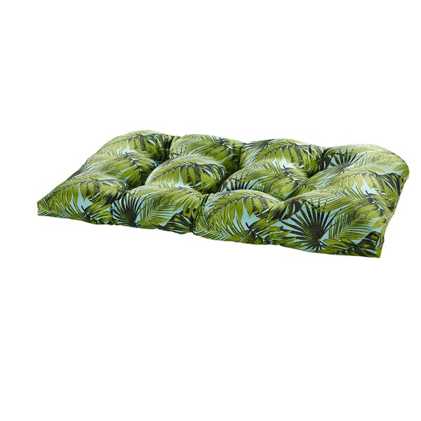 Terrasol Indoor/Outdoor Loveseat Cushion by Tempo