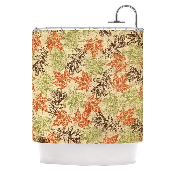 Leaf it to Me by Heidi Jennings Shower Curtain by East Urban Home
