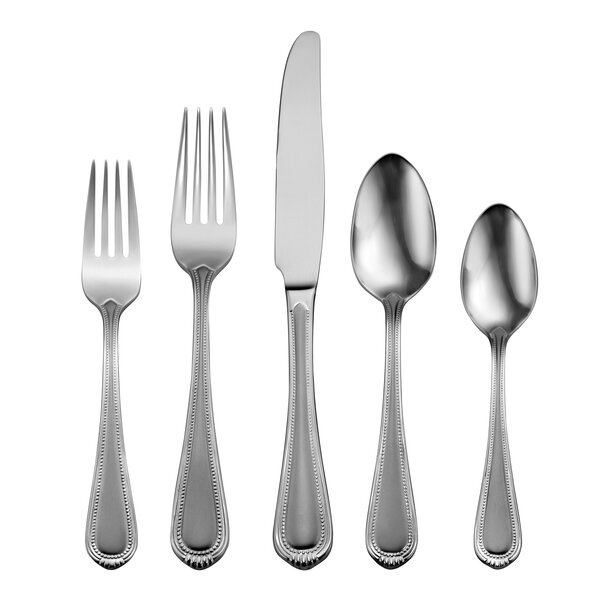 Satin Countess 45 Piece Flatware Set, Service for 8 by Oneida