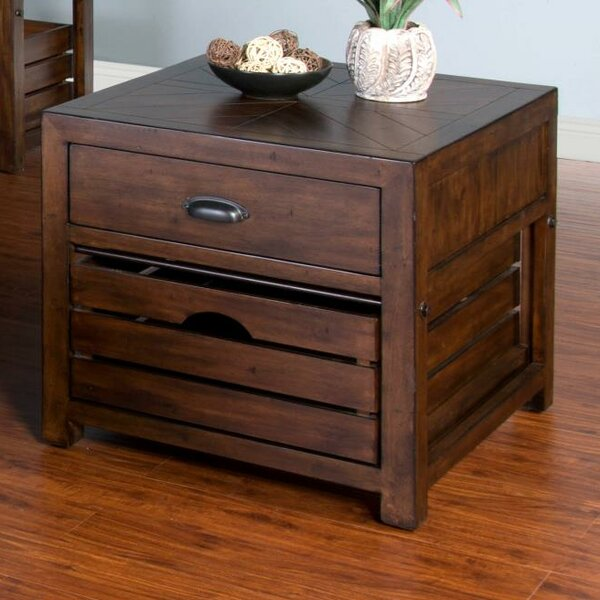 Wilfried End Table By Gracie Oaks