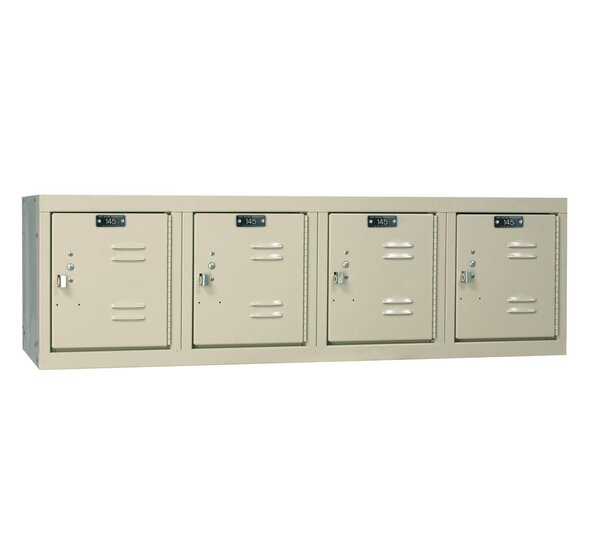 @ Premium 1 Tier 4 Wide Employee Locker by Hallowell| #$379.99!