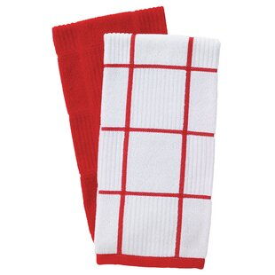Red Kitchen Towels Youu0027ll Love | Wayfair