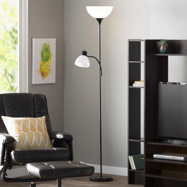 Nahla 71.37 Torchiere Floor Lamp by Zipcode Design