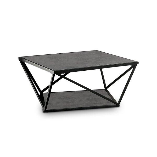 Cherryford Floor Shelf Coffee Table With Storage By Brayden Studio