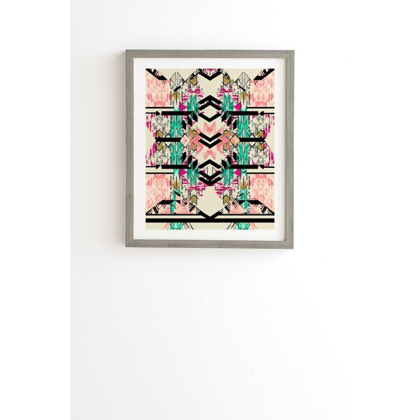 Austin Sun Framed Graphic Art by East Urban Home