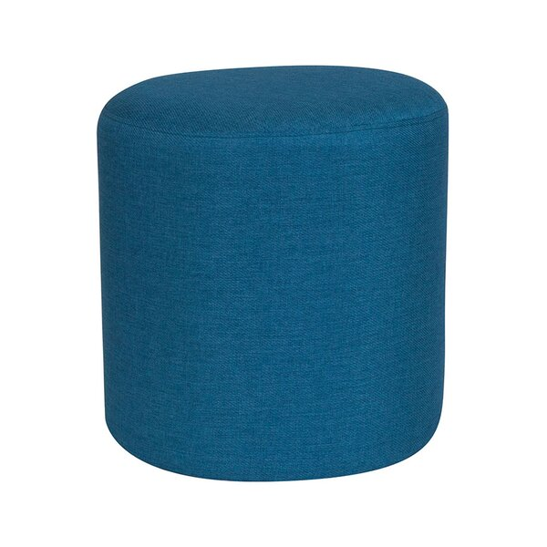 Ambrosia Upholstered Round Pouf by Ebern Designs