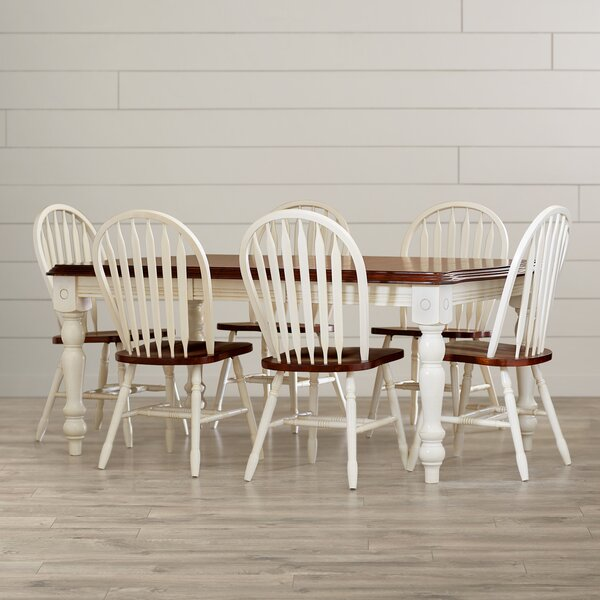 Irie 7 Piece Dining Set by Loon Peak