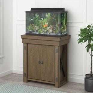 Fish tanks aquariums you 39 ll love wayfair for Small fish tank stand