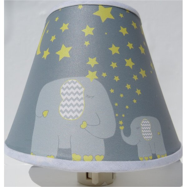 Elephant with Stars and Moon Night Light by Presto Chango Decor