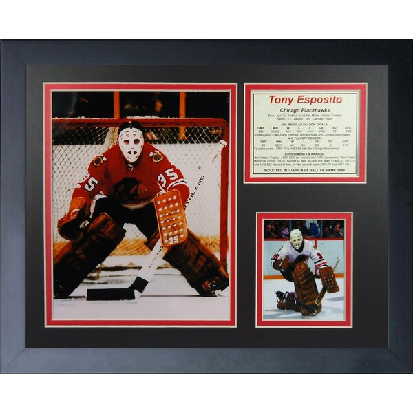 Tony Esposito Framed Memorabilia by Legends Never Die