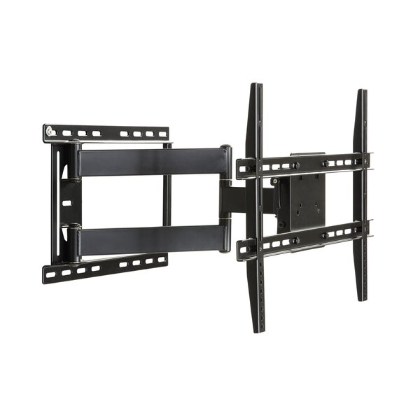 Large Full Motion Articulating Arm/Swivel/Tilt Wall Mount for 19 - 80 Flat Panel Screens in Black by Atlantic