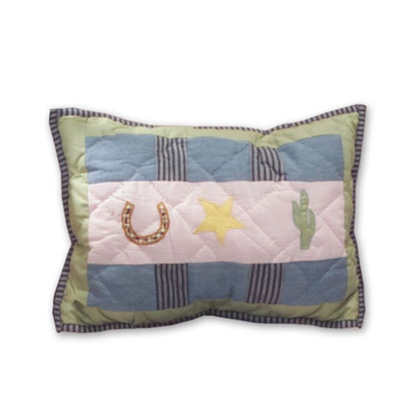 Lil Yeeehaw Cotton Boudoir/Breakfast Pillow by Patch Magic