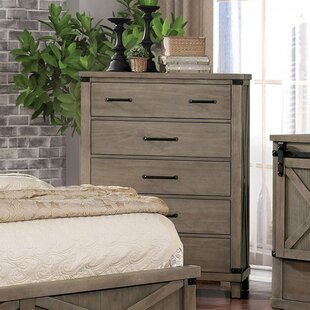 Ashly 5 Drawer Chest By Gracie Oaks