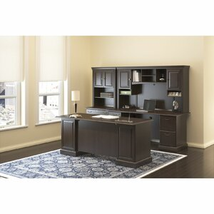 Syndicate Double Pedestal 3 Piece Desk Office Suite