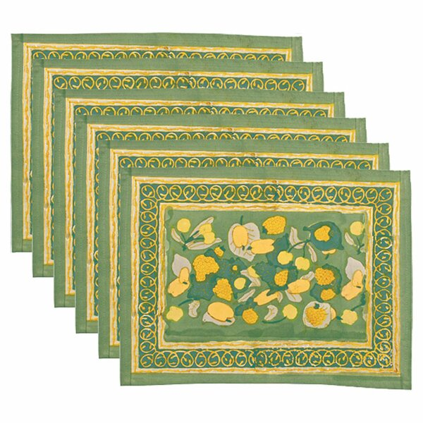 Fruit Placemat (Set of 6) by Couleur Nature