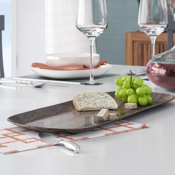 India Appetizer Melamine Platter By Beachcrest Home.