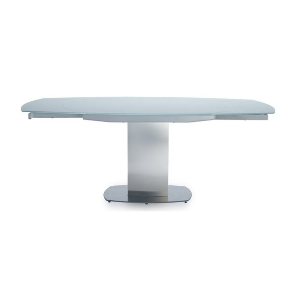 Natrona Extendable Dining Table by Orren Ellis